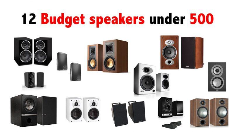12 budget speakers under 500