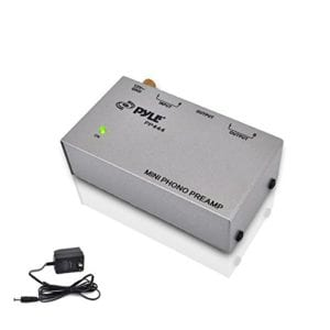 PYLE-PRO PP444 Ultra Compact Phono Turntable Preamp