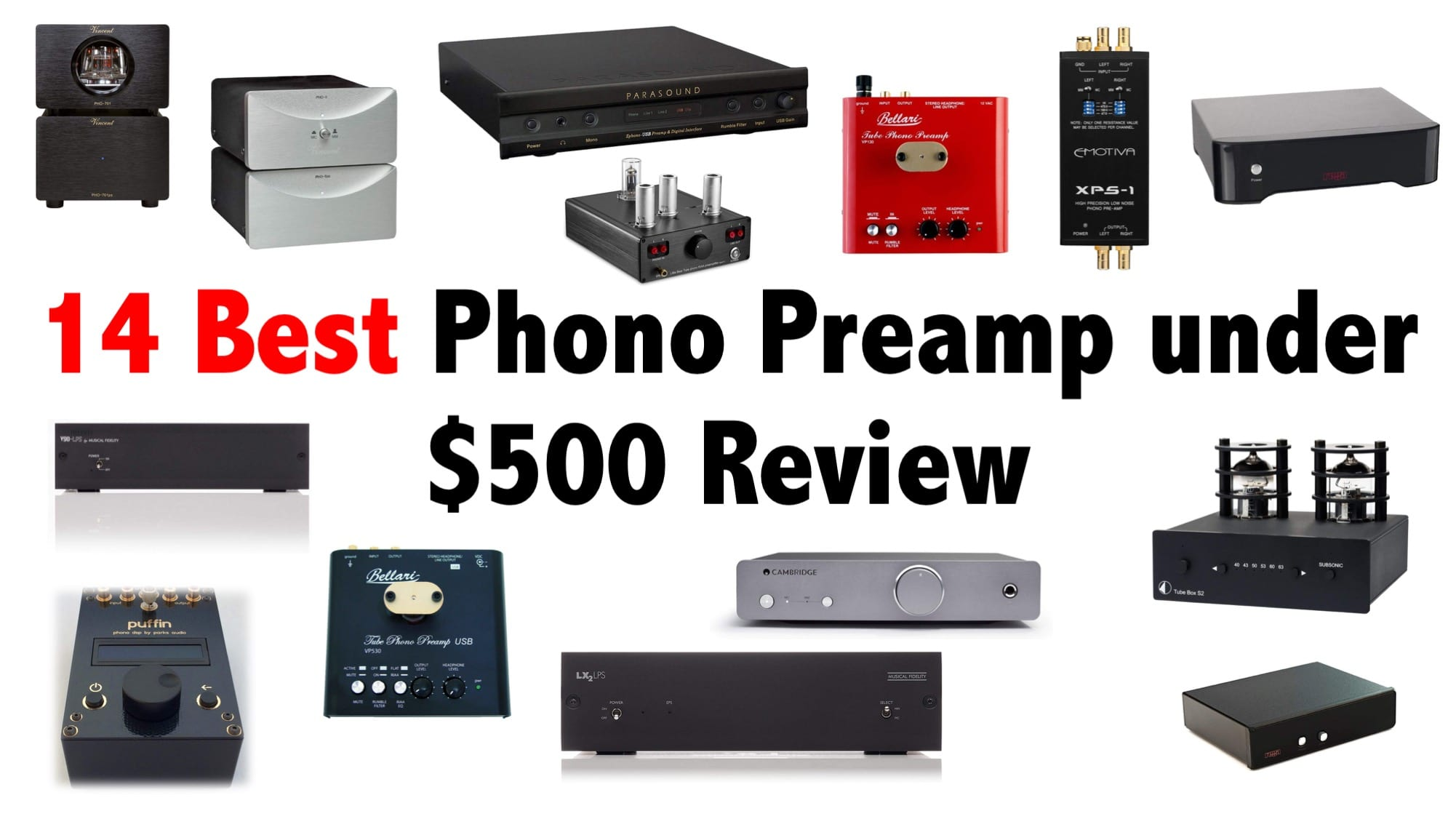 14 Best Phono Preamp under $500 Review