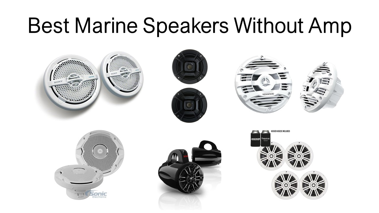Best Marine Speakers Without Amp