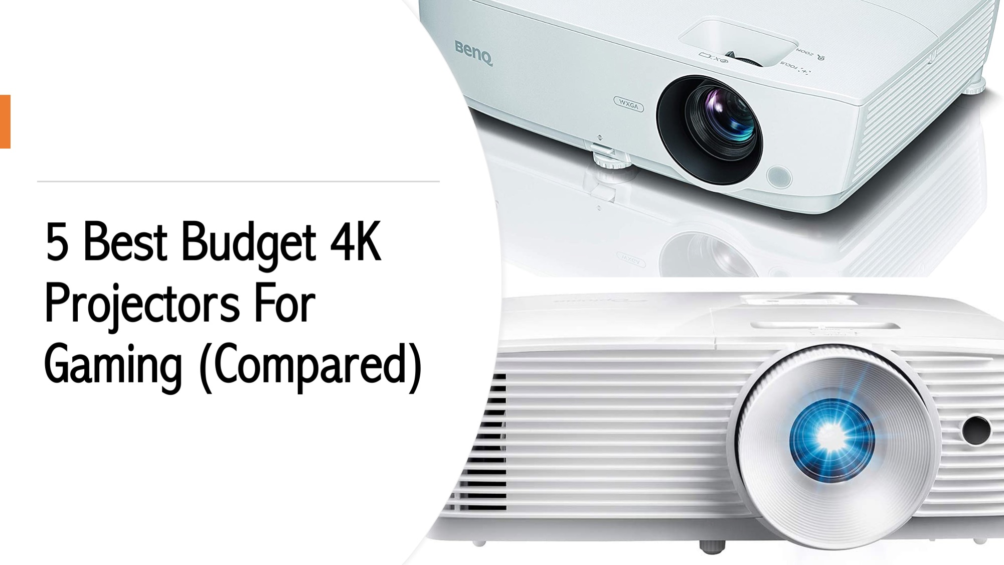 5 Best Budget 4K Projectors For Gaming (Compared)