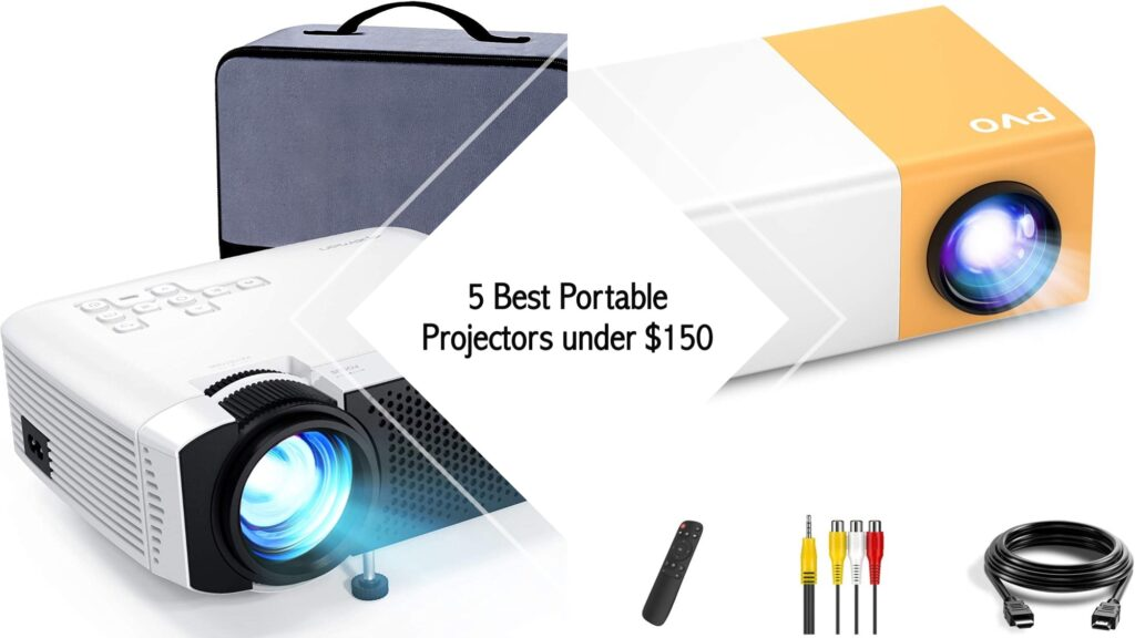 5 Best Portable Projectors under $150
