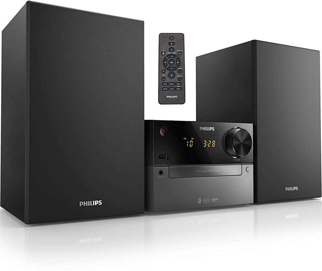 PHILIPS Bluetooth Stereo System for Home
