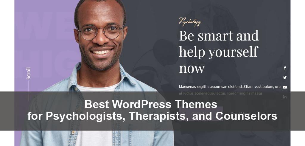 Best WordPress Themes for Psychologists, Therapists, and Counselors